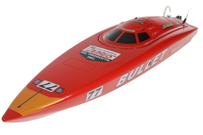 Brushless Bullet RC Speed Boat