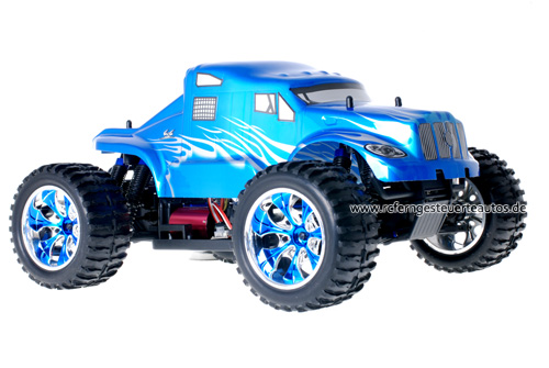 Himoto Brushless American Truck Blue Metal 2.4GHz