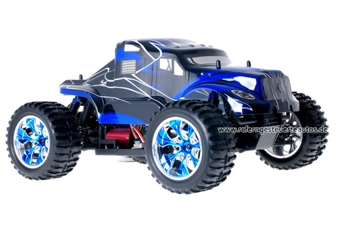 Himoto Brushless American Truck Blue 2.4GHz