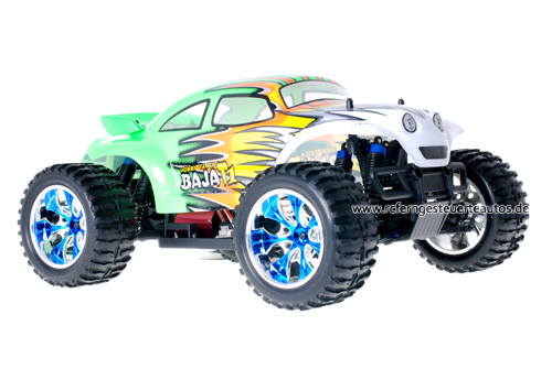 Himoto Brushless Baja Beetle Green 2.4GHz