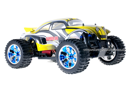 Himoto Brushless Baja Beetle Yellow 2.4GHz
