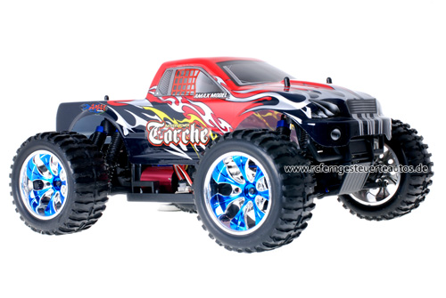Himoto Brushless Truck Black Red 2.4GHz