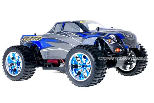 Himoto Brushless Truck Blue Carbon 2.4GHz