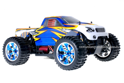 Himoto Brushless Truck Blue Leopard 2.4GHz