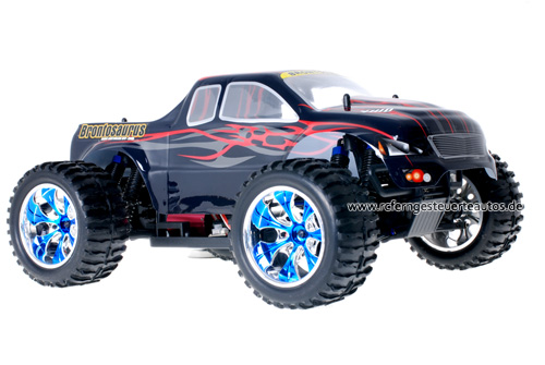 Himoto Brushless Truck Dracul Red 2.4GHz