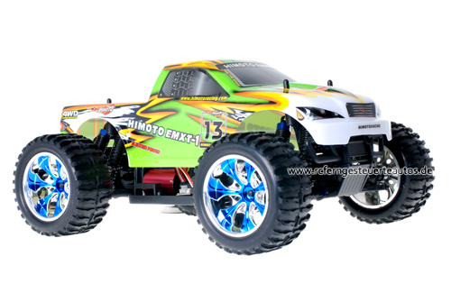 Himoto Brushless Truck Green Venom 2.4GHz