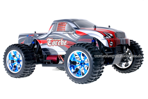 Himoto Brushless Truck Grey Red 2.4GHz