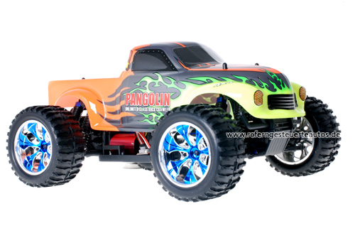 Himoto Brushless Truck Pangolin Orange 2.4GHz