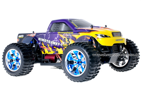 Himoto Brushless Truck Purple Lightning 2.4GHz