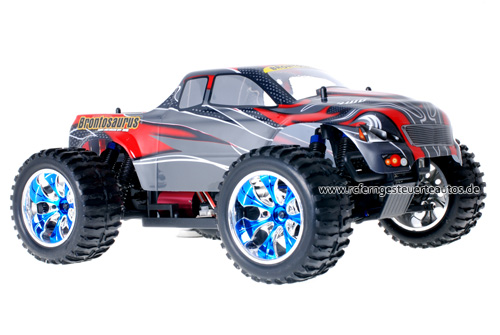 Himoto Brushless Truck Red Carbon 2.4GHz