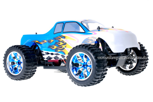 Himoto Brushless Truck White Blue 2.4GHz