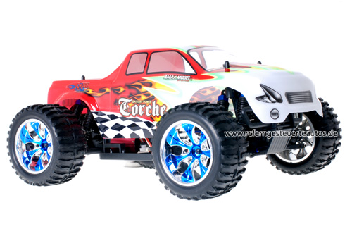 Himoto Brushless Truck White Red 2.4GHz