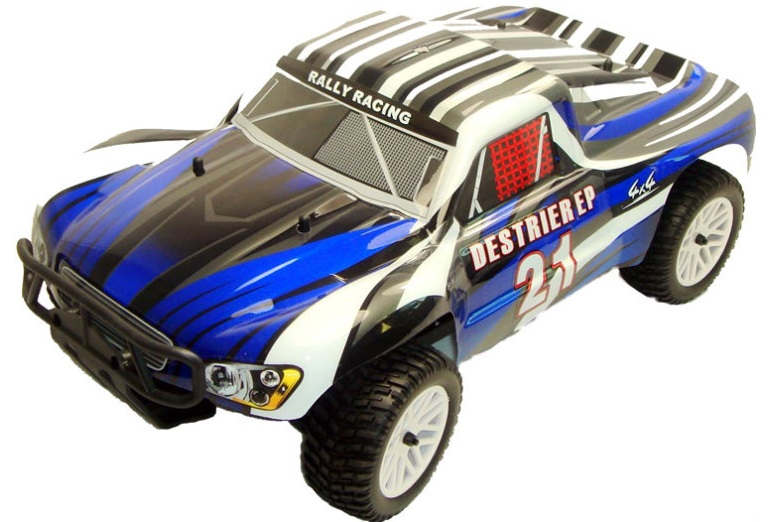 Himoto 1:10 Slash Rally Short Course Destrier Blue