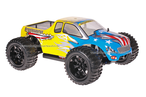 Himoto 1:10 Truck American Flag Yellow 2.4GHz ANGEBOT!