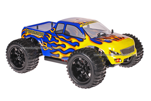 Himoto 1:10 Truck Blue Flames 2.4GHz ANGEBOT!