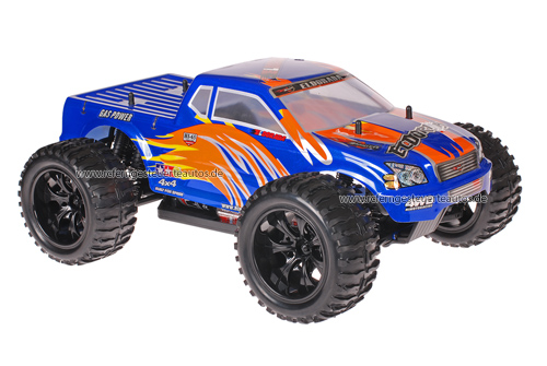 Himoto 1:10 Truck Blue Orange 2.4GHz ANGEBOT!