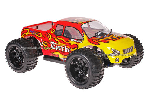Himoto 1:10 Truck Red Flames 2.4GHz ANGEBOT!
