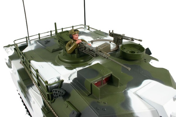 Carson / Hobby Engine Abrams M1 1:16 Winter RC Panzer PRO MODELL