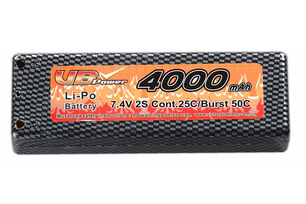 VB Power 7,4V 4000mAh LiPo Akku