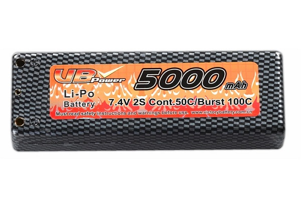 VB Power 7,4V 5000mAh LiPo Akku