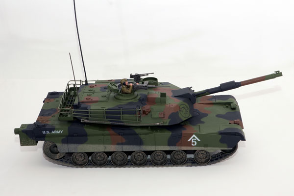 Carson / Hobby Engine Abrams M1 1:16 Forest RC Panzer